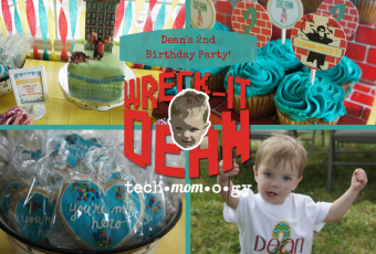 Dean's Wreck It Ralph 2nd Birthday Party